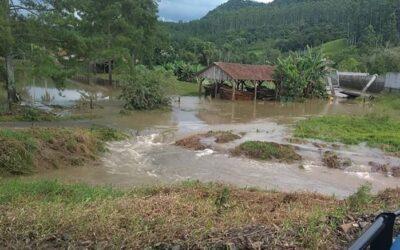 Canal de PCH em Taió volta a romper