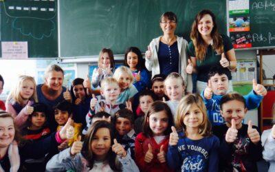 Jovens da Apremavi em ação na Alemanha