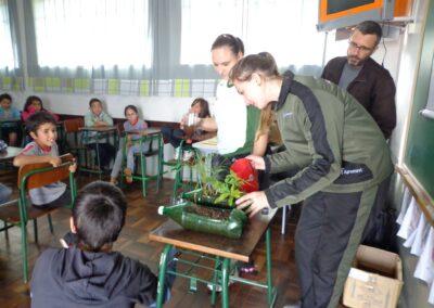 Atividade realizada em escola de Abelardo Luz