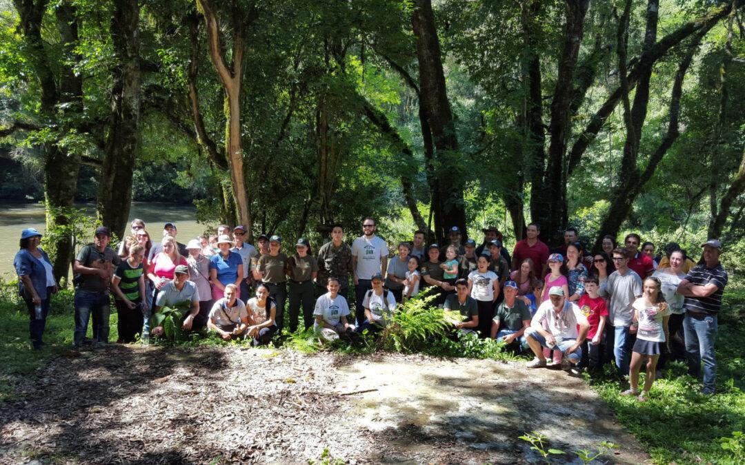 1º Pedal no Parque Nacional das Araucárias