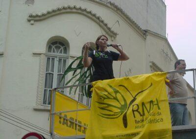 Manifestação da RMA.