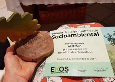 Prêmio Ekos de Responsabilidade Socioambiental. Foto: Miriam Prochnow.