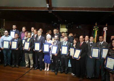 Instituições condecoradas com o Prêmio Gigantes da Ecologia. Foto: Acervo IGE.