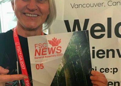 Atalanta na capa do FSC News.