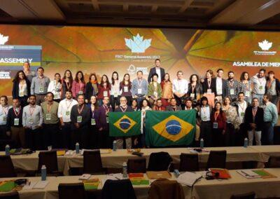 Delegação brasileira no FSC 2017.
