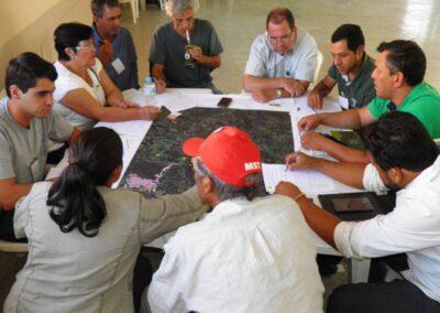 Grupo de Trabalho - Imbaú. Foto: Marcos Alexandre Danieli.