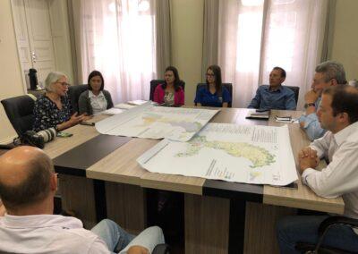 Apresentação do Plano ao prefeito de Lages. Foto: Greik Pacheco.