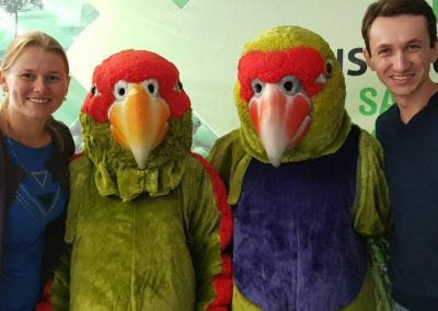 Inauguração RPPN Papagaios de Altitude. Foto: Arquivo Apremavi.