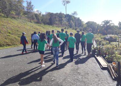 Grupo Plantando o Futuro durante encontro de planejamento. Foto: Arquivo Apremavi.