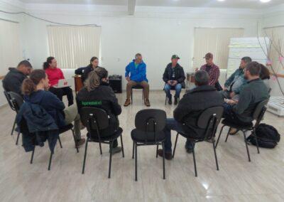 Encontro de ONGs contempladas pelo edital do BNDS. Foto: Maira Ratuchinski.