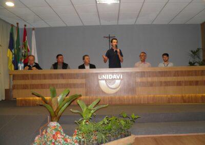 Mesa de Abertura do Seminário Restaura Alto Vale. Foto: Marcos A. Danieli.