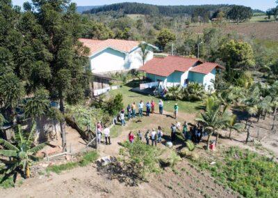 Vista aérea do plantio. Foto: Arquivo Apremavi.