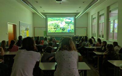 Apremavi fala sobre a importância da Mata Atlântica para alunos da Alemanha