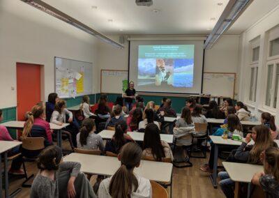 """Palestra da semana """"A Mata Atlântica vai até a sala de aula"""". Foto: Brigitte Heinz"""