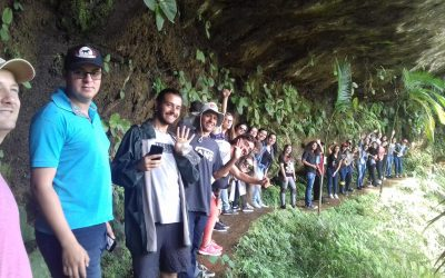 Alunos do IFSC visitam a Apremavi
