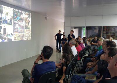 Evento de inauguração das novas instalações do Viveiro Jardim das Florestas. Foto: Arquivo Apremavi.