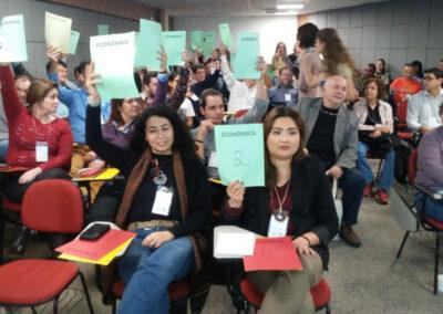 Votação de pautas discutidas durante a Semana FSC-Brasil. Foto: Arquivo FSC-Brasil.