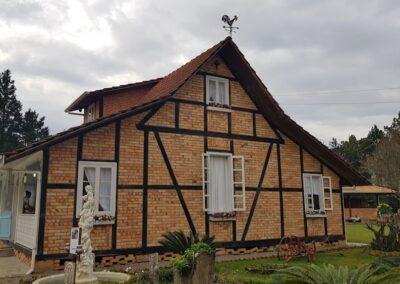 Krüger Haus, em Trombudo Central (SC). Foto: Arquivo Apremavi.