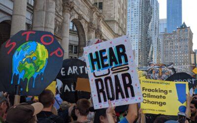 Maior mobilização da história foi em prol do meio ambiente