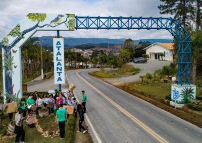Dia 23 de agosto foi dia de ativismo com o tema #TodosPelaAmazônia. Foto: Wigold B. Schäffer.