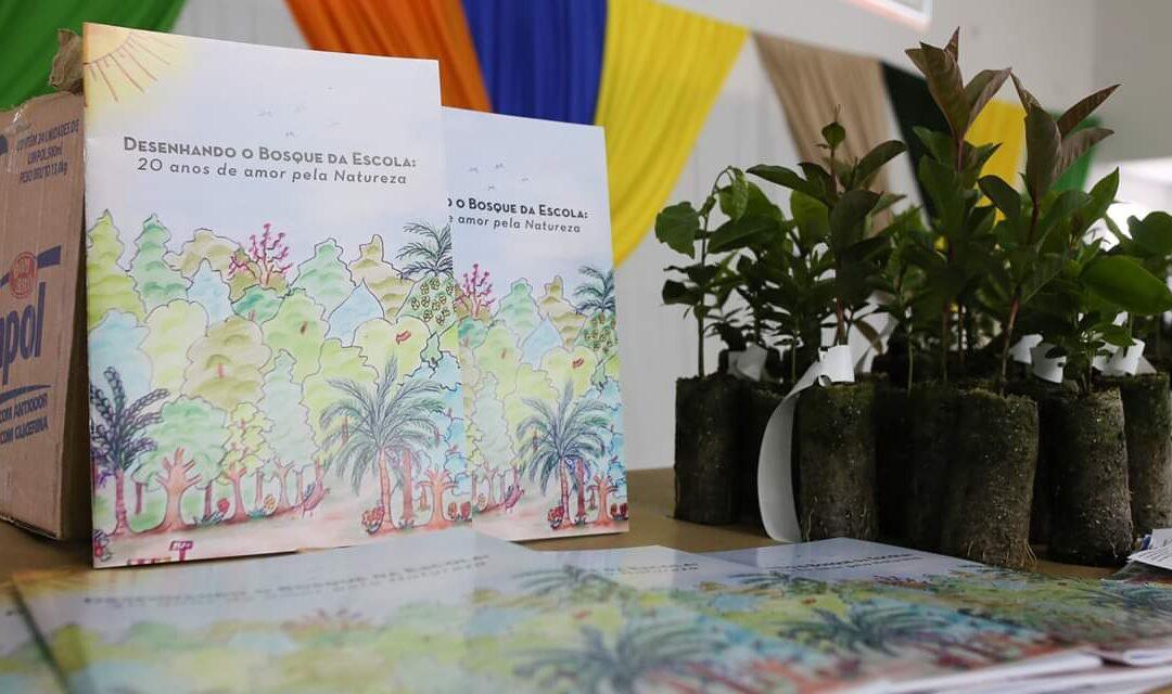Cartilha ecológica é lançada durante Festival Literário em Atalanta