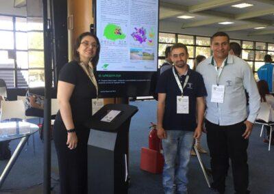 Equipe do Matas Legais durante apresentação do resumo sobre o Programa Matas Legais. Foto: Marcos A. Danielli.