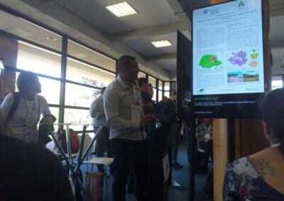 Coordenador Regional do Matas Legais durante apresentação do resumo sobre o Programa. Foto: Marcos A. Danielli.