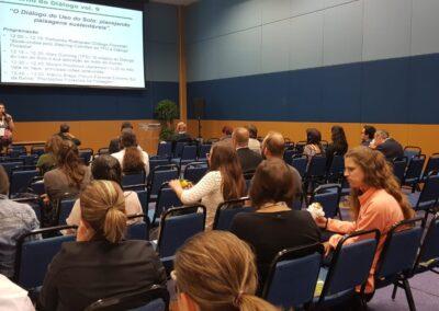 Participantes do evento paralelo do Diálogo Florestal durante o Congresso da IUFRO. Foto: Miriam Prochnow.