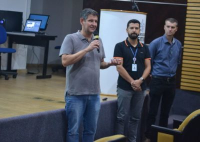 Apresentações feitas durante Seminário Regional do Fórum Pr e SC.