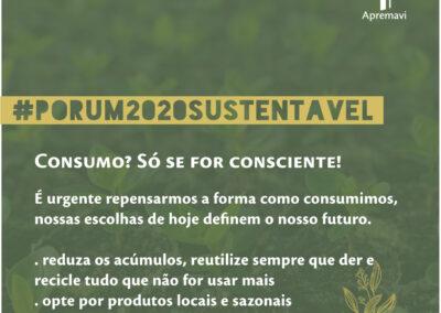 Resoluções 2020 | Consumo? Só se for consciente!