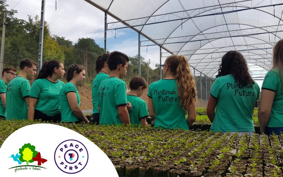 Plantando o Futuro recebe grant para impulsionar atividades