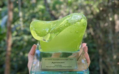 Apremavi recebe Troféu Onda Verde durante cerimônia virtual
