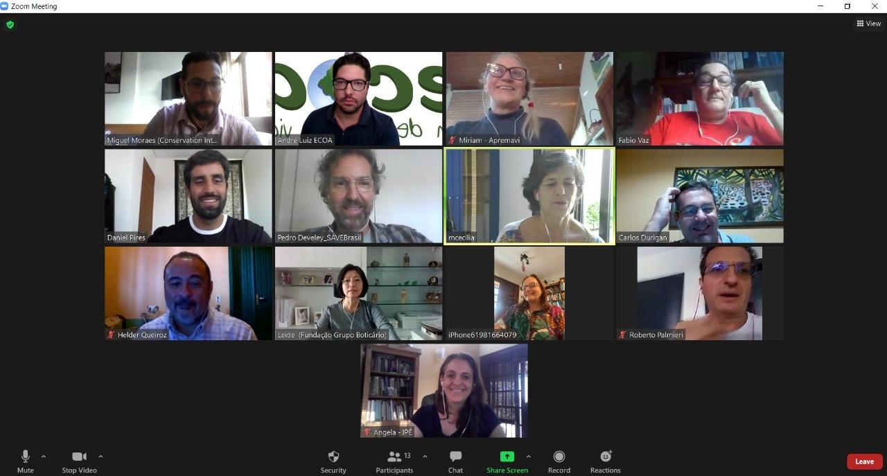 Reunião IUCN Brasil