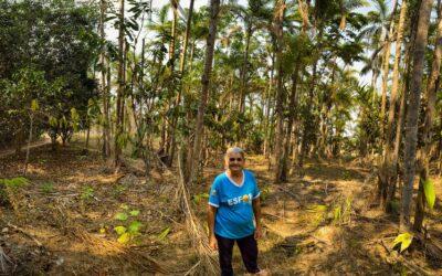 Dona Helena e a vontade de ter um pedacinho de terra   Mulheres que Restauram